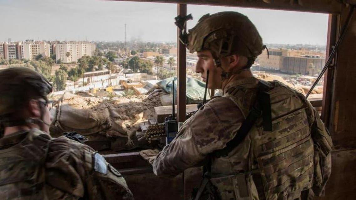 جنود أميركان في العراق