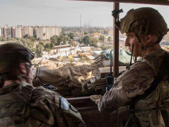 قوات التحالف الدولي تسلّم قاعدة القائم للعراق