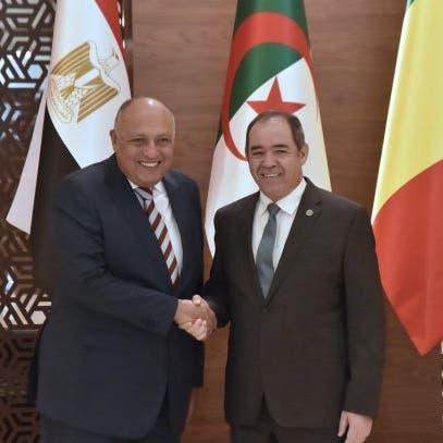 سامح شكري: إجماع على رفض تدخل دول تستقدم مرتزقة لليبيا