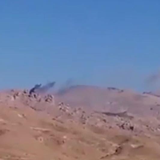 فيديو.. طيران التحالف يستهدف تجمعات الحوثيين في الجوف