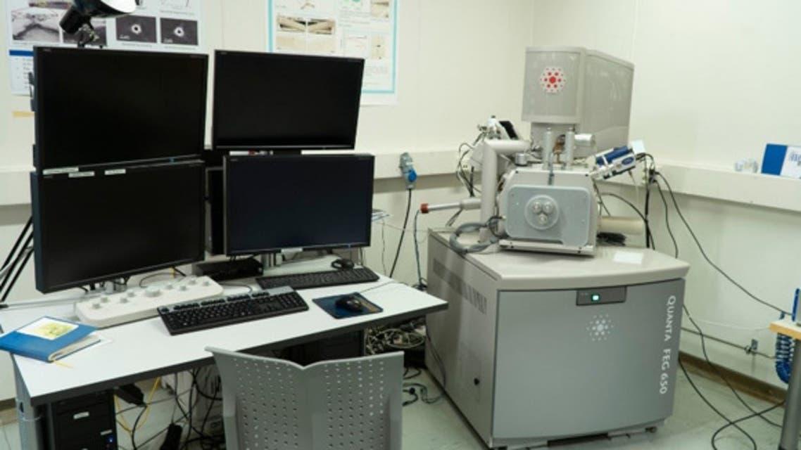 مختبر للسبائك المعدنية