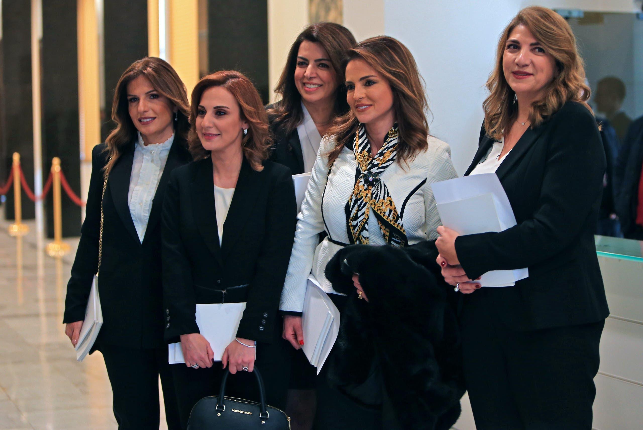 وزيرات جديدات على اللبنانيين