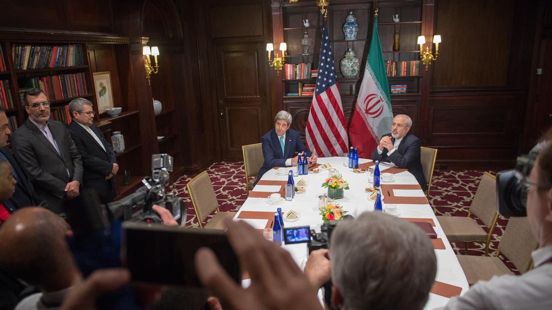 Kerry and Zarif (AFP)