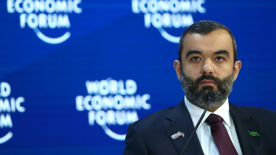 وزير الاتصالات وتقنية المعلومات السعودي عبدالله السواحه دافوس 2020