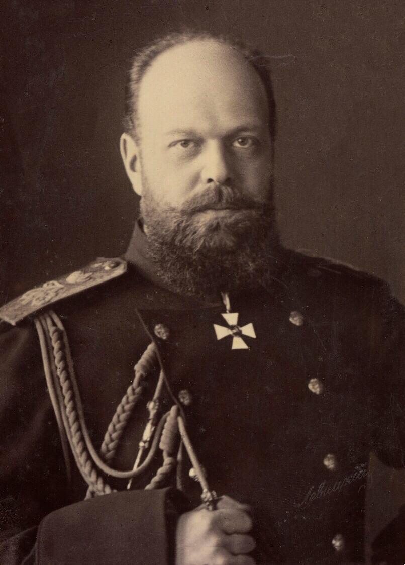 صورة للقيصر الروسي ألكسندر الثالث