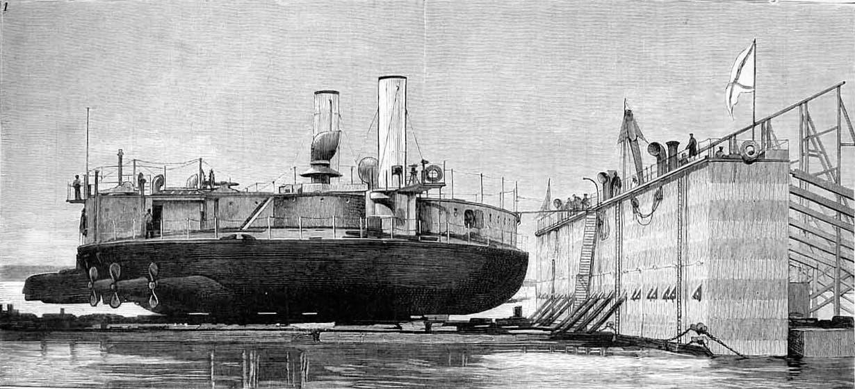 رسم تخيلي للسفينة بوبوف