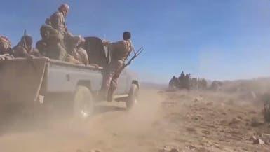 فيديو.. الجيش اليمني يكسر هجوماً حوثياً شرق صنعاء
