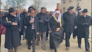 """وفد من علماء المسلمين يزور موقع الإبادة الجماعية لليهود في """"أوشفيتز"""""""