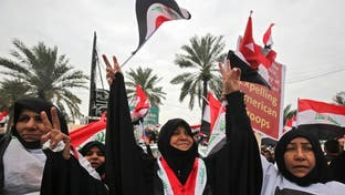 أنصار الصدر في بغداد.. بحماية أمنية مشددة