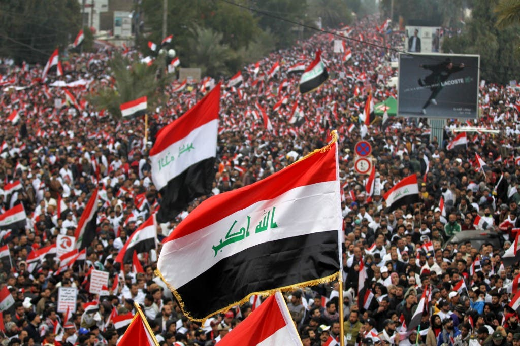 من احتجاجات بغداد