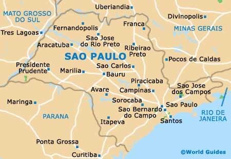 خريطة مدينة ساو باولو