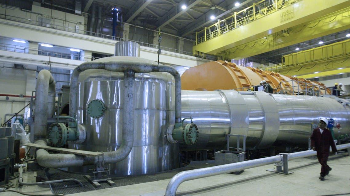 مفاعل نووي إيراني (أرشيفية- فرانس برس)