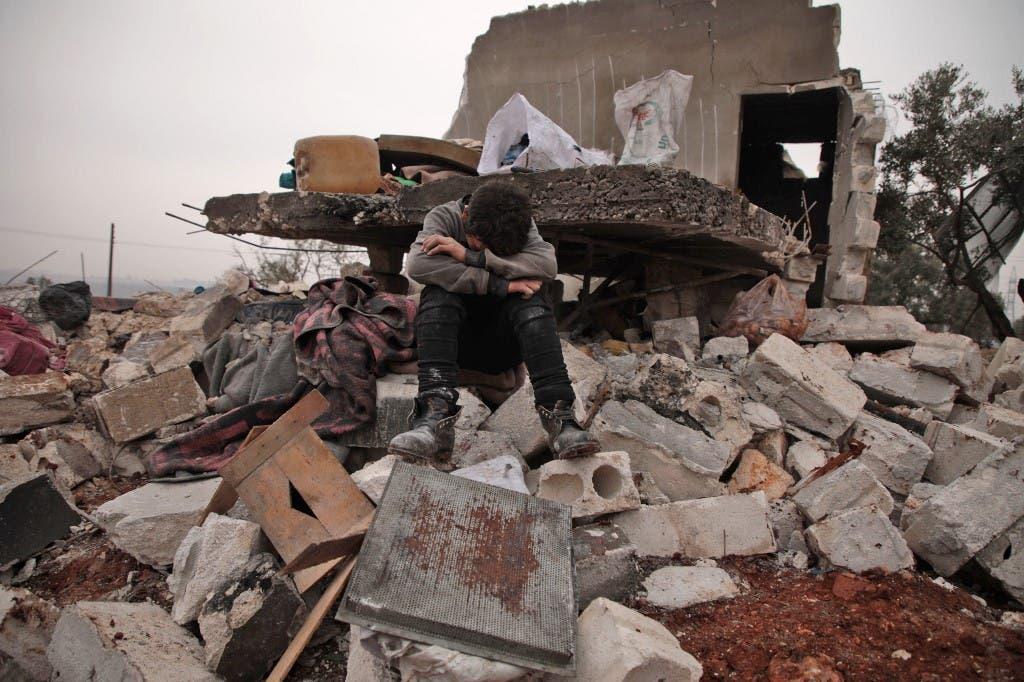 من مدينة حلب (فرانس برس)