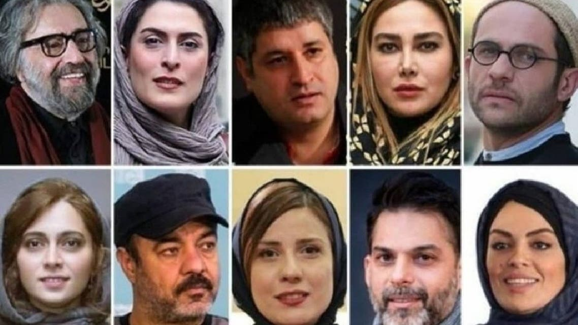 فنانون إيرانيون