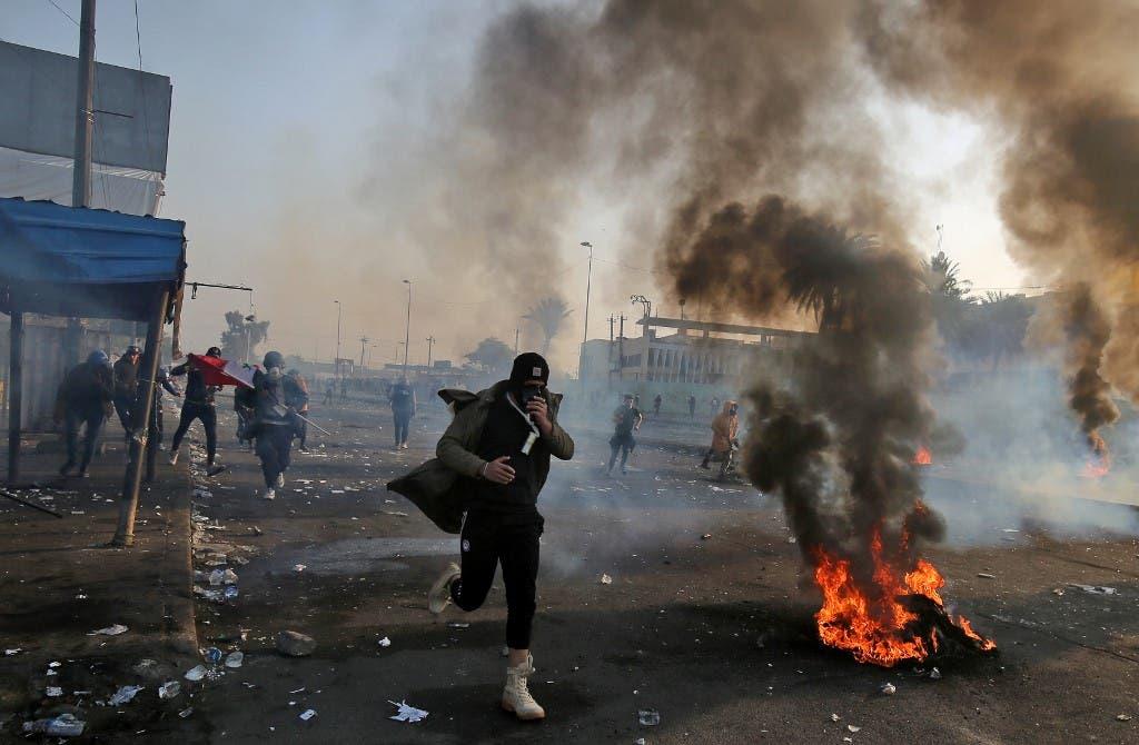 ساحة التحرير 24 يناير - فرانس برس