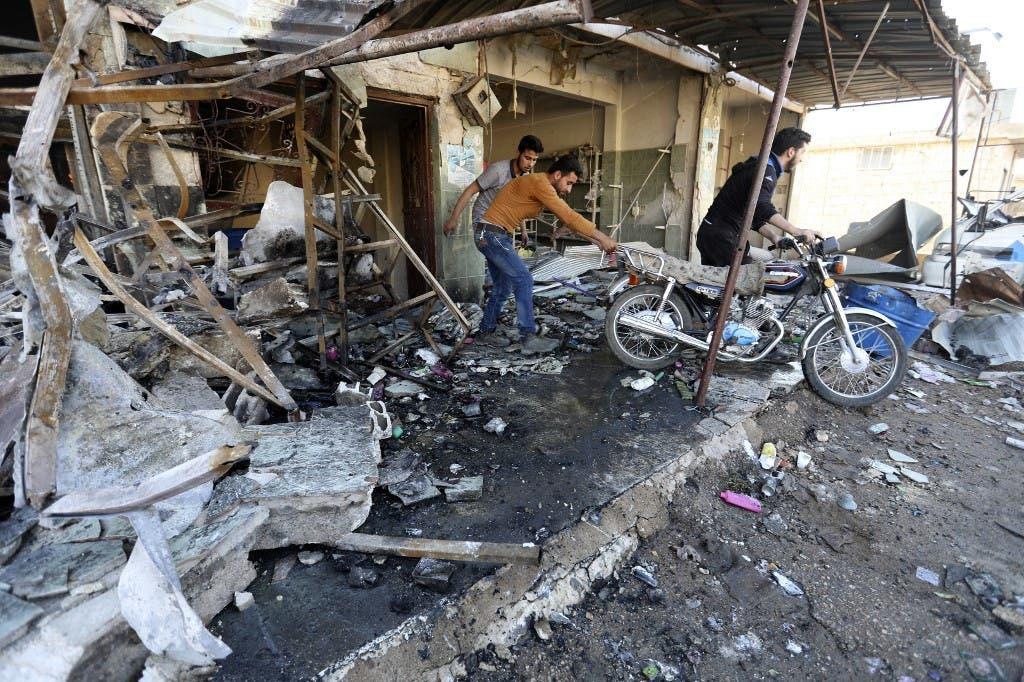 من مدينة حلب فرانس برس