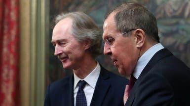 لافروف: معظم الحدود مع تركيا والعراق بقبضة قوات الأسد