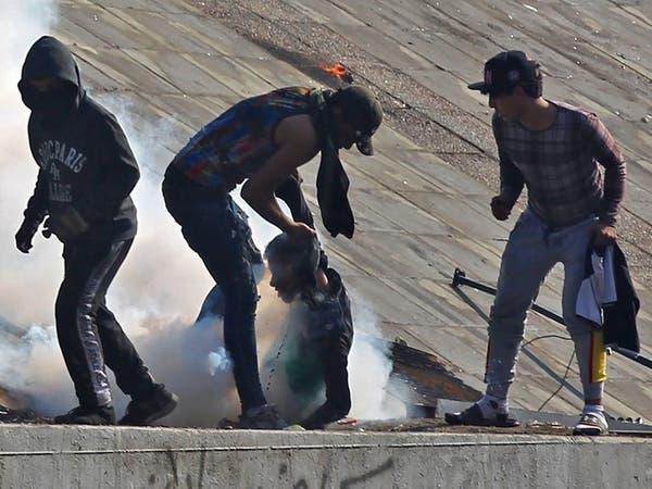 """6 قتلى ببغداد.. وحالات اختناق في """"محمد القاسم"""""""