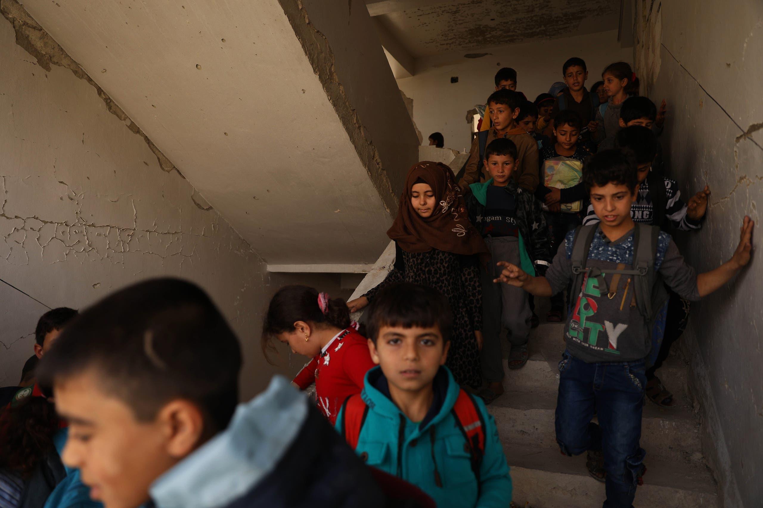 طلاب سوريون (أرشيفية- فرانس برس)