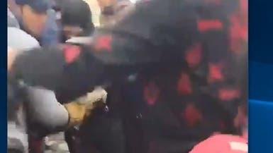 فيديو دموي.. لحظة قنص متظاهر عراقي في بغداد
