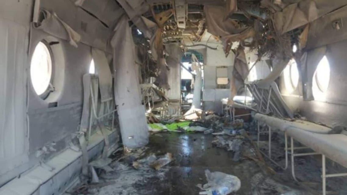 یک چرخبال ارتش افغان در هلمند افغانستان آماج حمله موشکی قرار گرفت