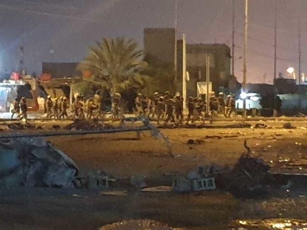 فيديو.. قوات الأمن تحرق خيم المعتصمين في ساحات العراق