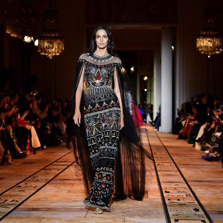 الملكات الفرعونيات شاركن بعرض زهير مراد الباريسي