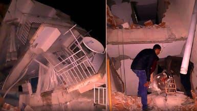 شاهد الأرض تزلزل زلزالها بتركيا وكيف دب الرعب في السكان