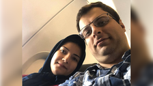 After losing wife in Ukraine plane attack, man flees Iran amid threats