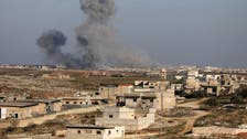 Artillery attacks, air raids in rebel-held Syria said to kill at least 10