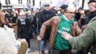 حمله طرفداران حزبالله و حماس به تظاهر کنندگان ایرانی در پاریس