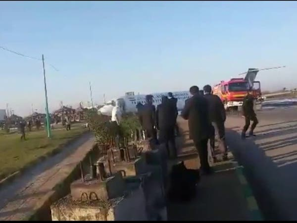 ويديو... وقوع سانحه هوایی در مسیر تهران- ماهشهر و نجات همه سرنشینان هواپیما