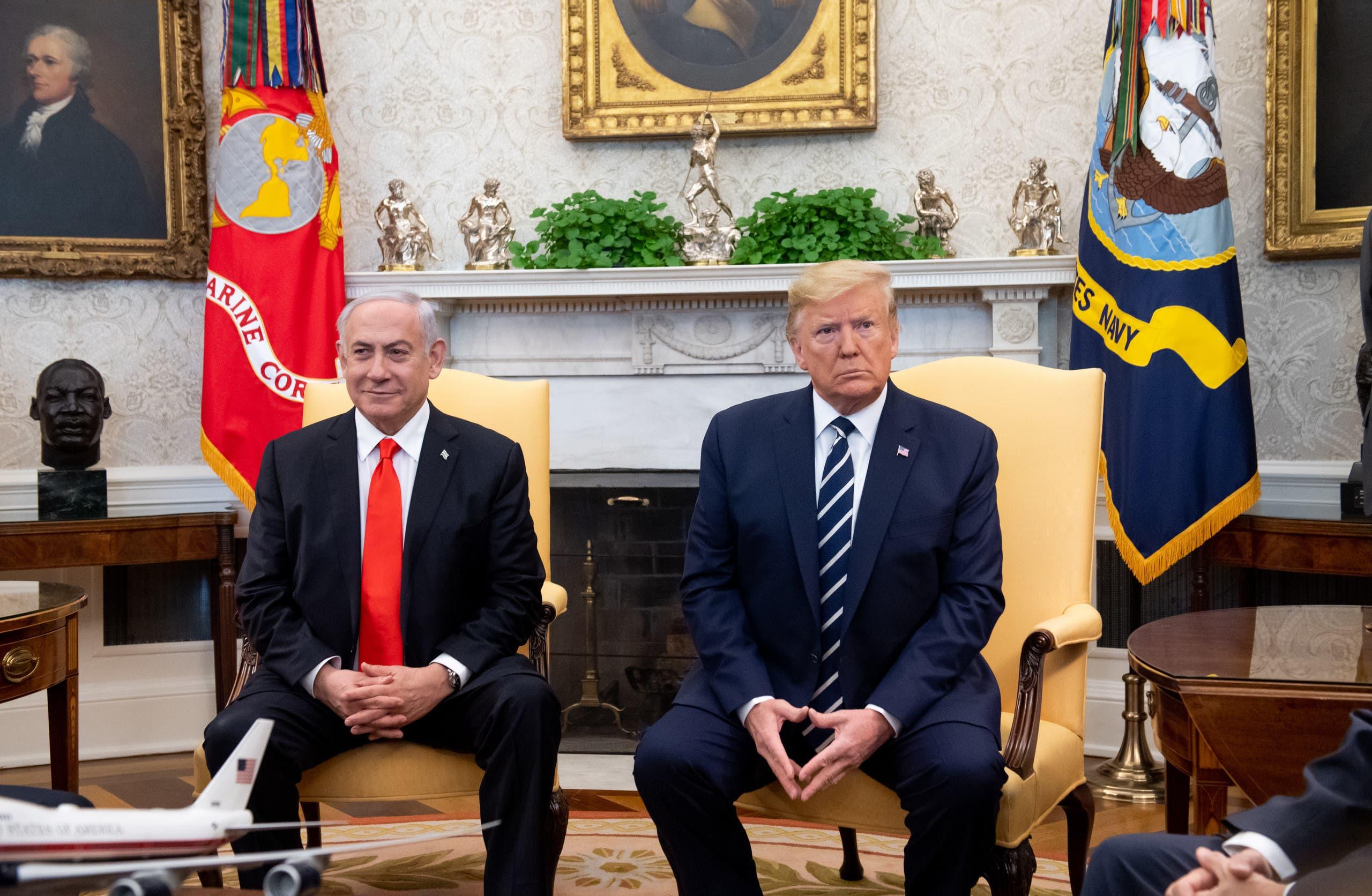 ترمب نتانياهو