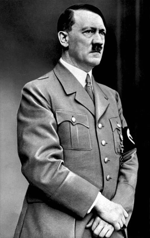 صورة للقائد النازي أدولف هتلر