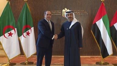 وزير خارجية الإمارات بالجزائر لبحث التعاون وأزمة ليبيا