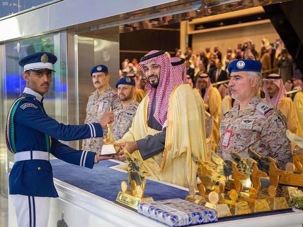 محمد بن سلمان يرعى تخريج طلبة كلية الملك فيصل الجوية
