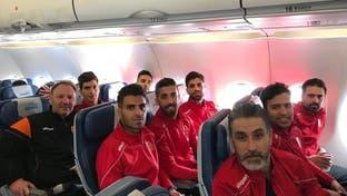 هواپیمای تیم فوتبال شهرخودرو در کویت دچار نقص فنی شد