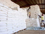 في منطقة سيطرة الحوثيين.. نهب 127 طناً من المساعدات الأممية