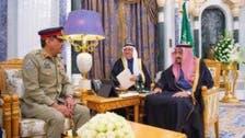 جنرل ندیم رضا کی سعودی فرمانروا شاہ سلمان بن عبدالعزیز سے ملاقات