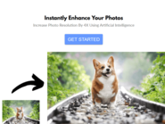 أداة مجانية تعتمد على الذكاء الاصطناعي لتحسين جودة الصور
