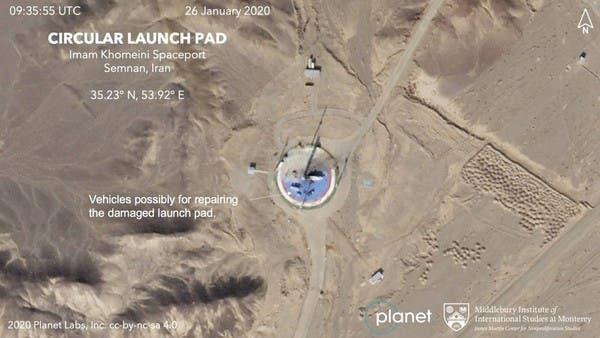 مسؤولون وصور فضائية تشير لقرب إطلاق قمر صناعي من إيران