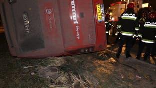 ایران...تصادف مرگبار یک اتوبوس 10 مسافر را به کام مرگ کشاند
