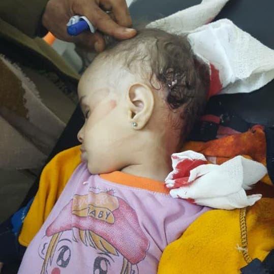 اليمن.. مقتل طفلة وإصابة 4 مدنيين في قصف حوثي على تعز