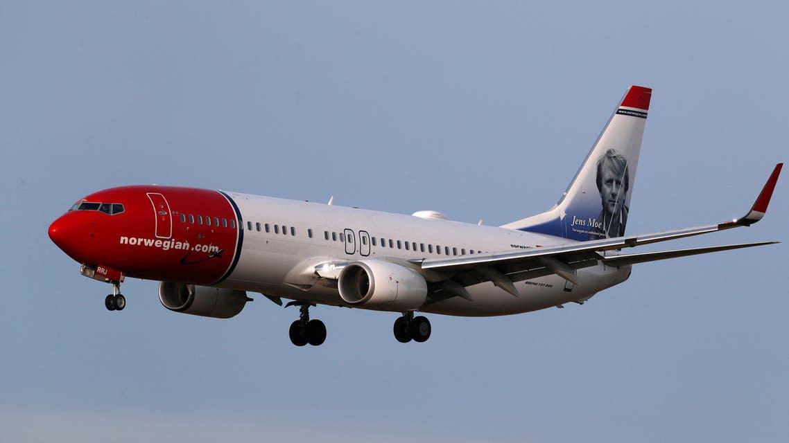 Norwegian Air Sweden Boeing 737-800 plane (Reuters)