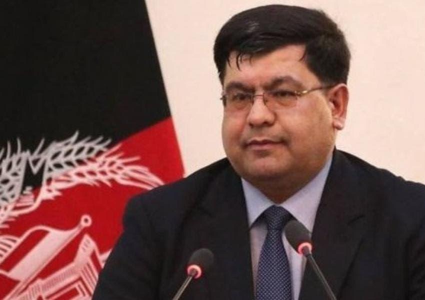 شاه حسين مرتضوي، أحد كبار مستشاري الرئيس الأفغاني