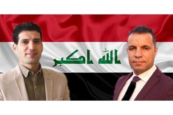 احمد عبد الصمد گزارشگر و صفاء غالي فیلمبردار که به گفته عراقیها توسظ شبه نظامیان وابسته به ایران کشته شدند