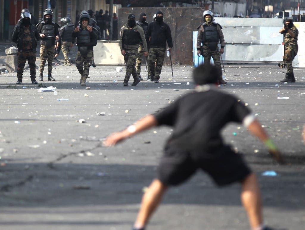 من بغداد 28 يناير - فرانس برس