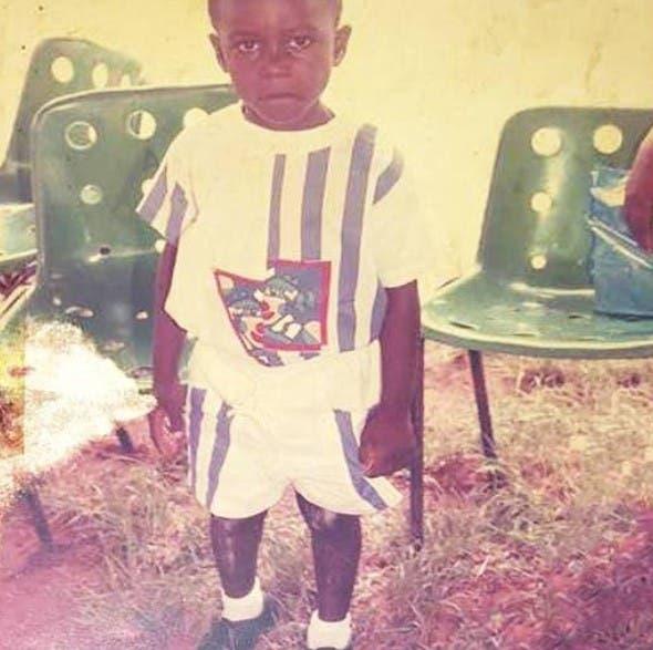 بوني في طفولته