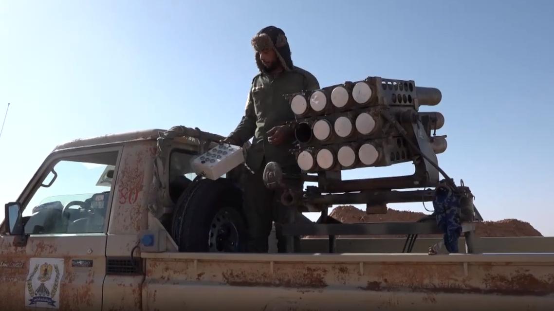 الجيش الليبي في مصراتة  تصوير قناة العربية