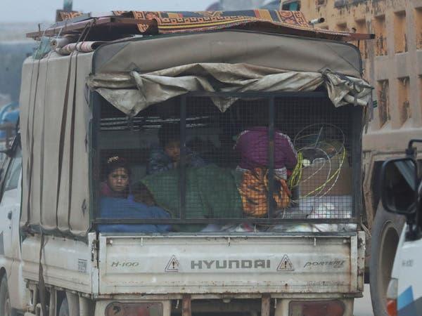75 ألف سوري نزحوا من ريف إدلب خلال أيام
